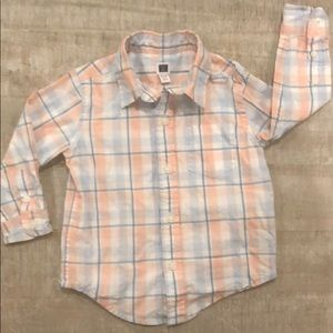 Janie and Jack 12-18 collared shirt
